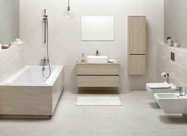 CREA - a bathroom collection offering unique possibilitties.