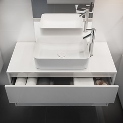 washbasins and pedestals