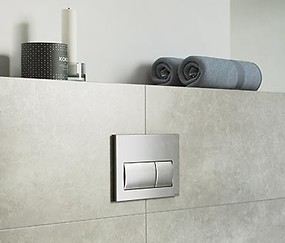 concealed systems and flush buttons
