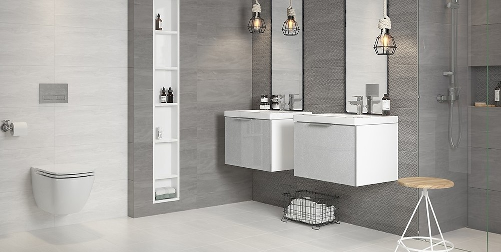 Ceramics, bathroom fittings and furniture. The bathroom you dream about.