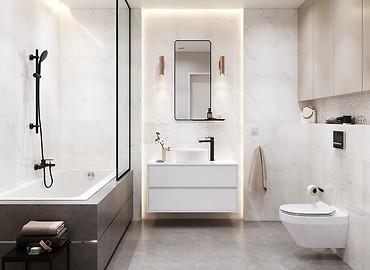 Mała łazienka Inspiracje I Porady Cersanit