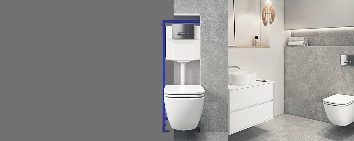 Stelaż podtynkowy WC - wybierz najlepszy model / Inspiracje ...