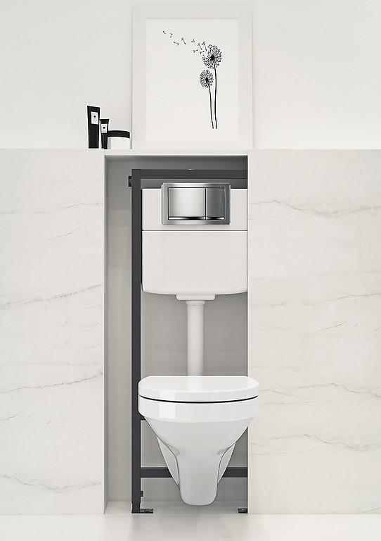 59a62cfa485679 Stelaż podtynkowy WC - wybierz najlepszy model / Inspiracje i porady ...
