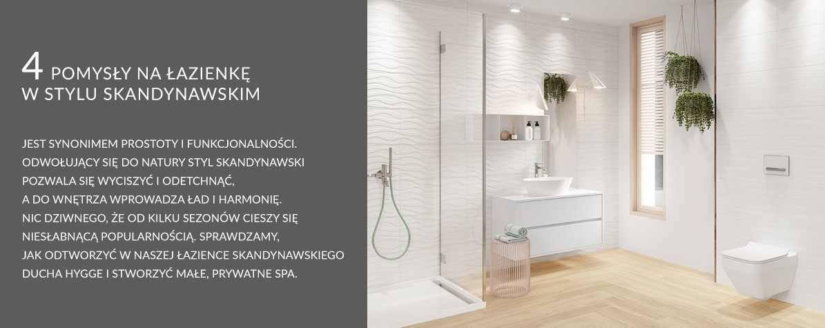 4 Pomysły Na łazienkę W Stylu Skandynawskim Inspiracje I