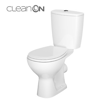 WC kompakt 619 ARTECO 010 NEW CleanOn bez deski