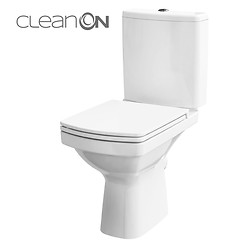Set WC compact 600 EASY NEW CleanOn, 011, 3/5 L,capac WC, duroplast, ...